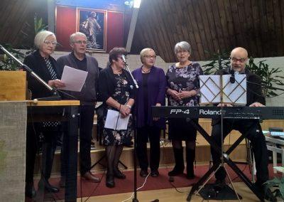 Teneriffan ryhmä myös lauloi juhlassa.