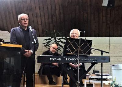 Antti ja Aija Pelkokangas toivat terveiset Sotkamosta.